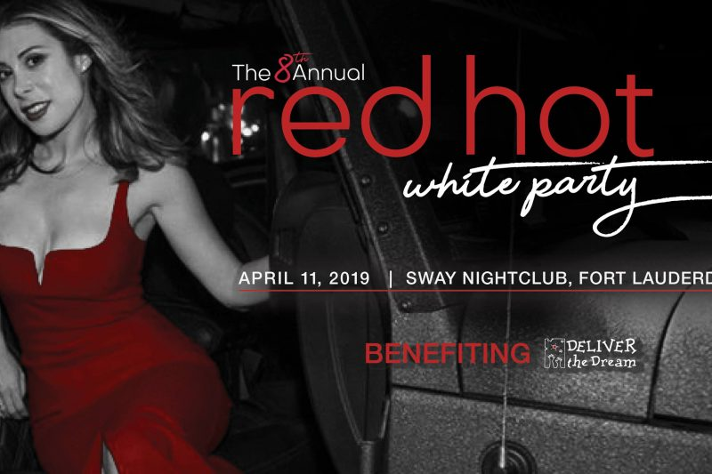 8th Annual Red Hot White Party